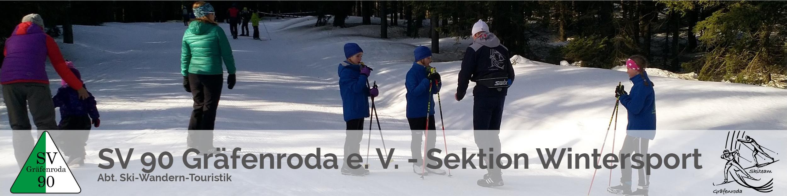 SV 90 Gräfenroda e.V. – Sektion Wintersport